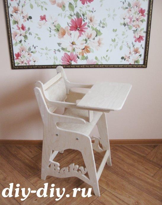 Детские столики и стульчики из фанеры своими руками