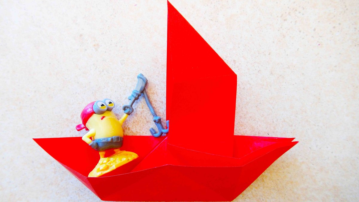 Кораблик поделка своими руками