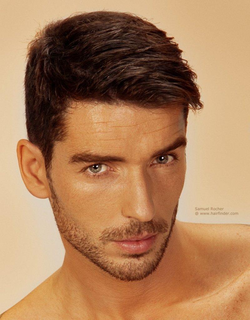 Фото мужских причёсок с короткими волосами