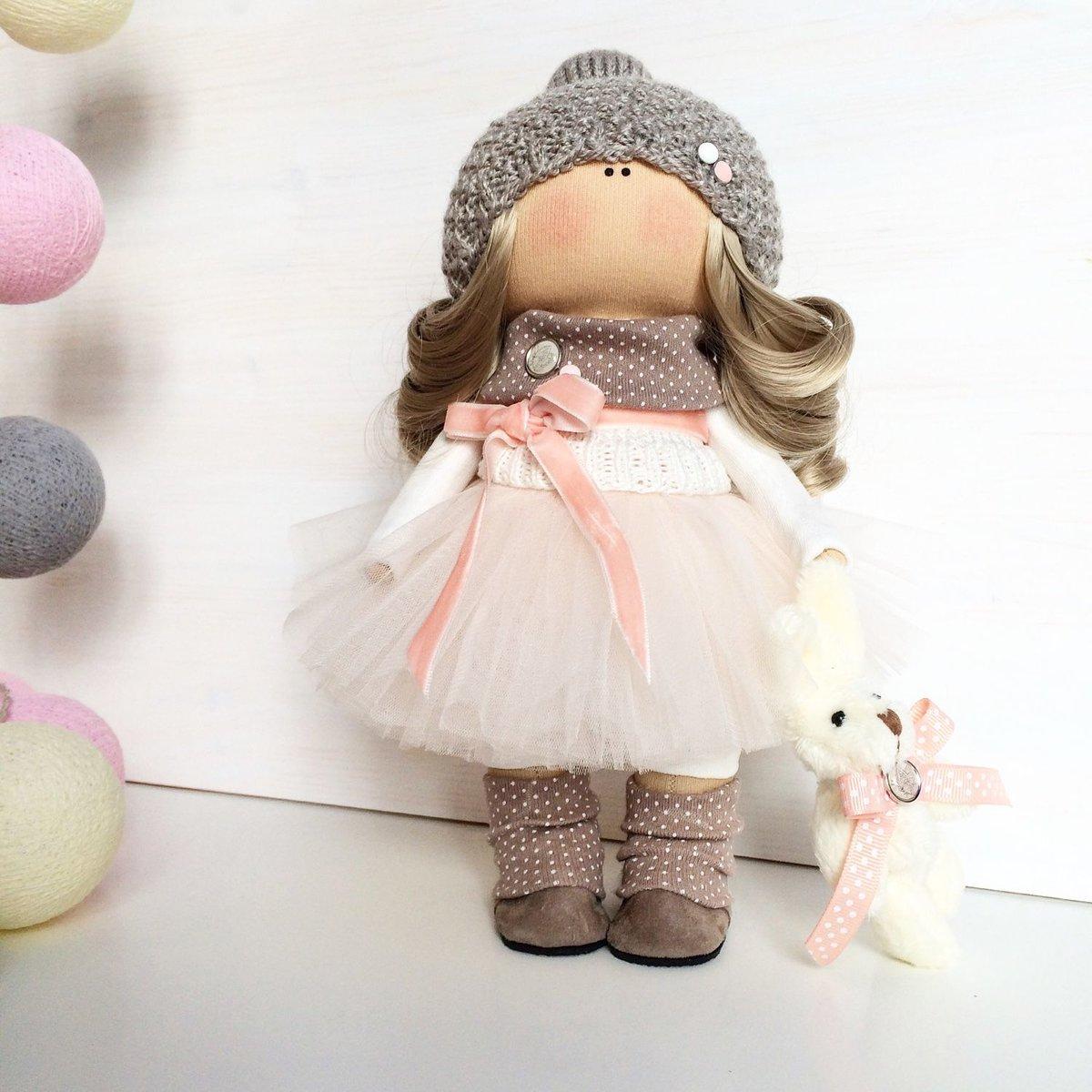 Куклы для интерьера своими руками