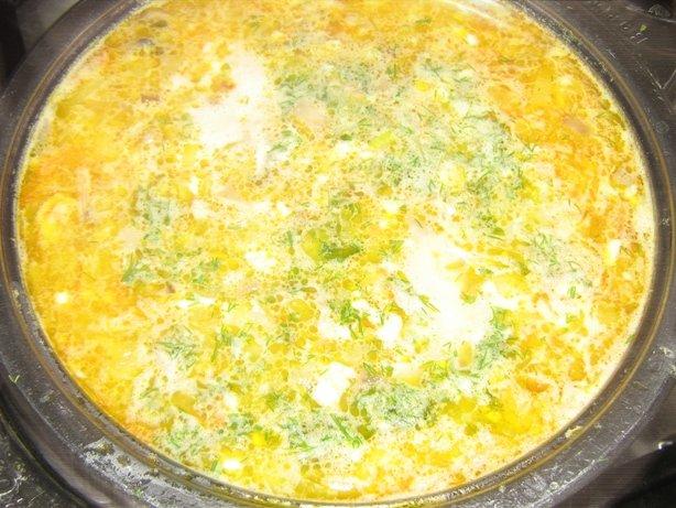 Суп грибной суп с сыром плавленным рецепт с пошагово
