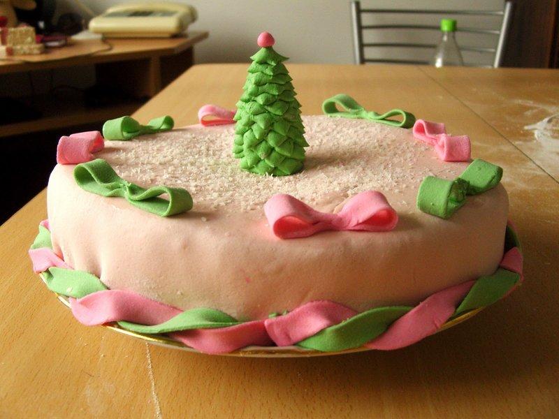 Красивые торты на новый год своими руками