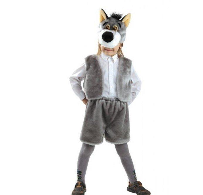Костюм серого волка своими руками