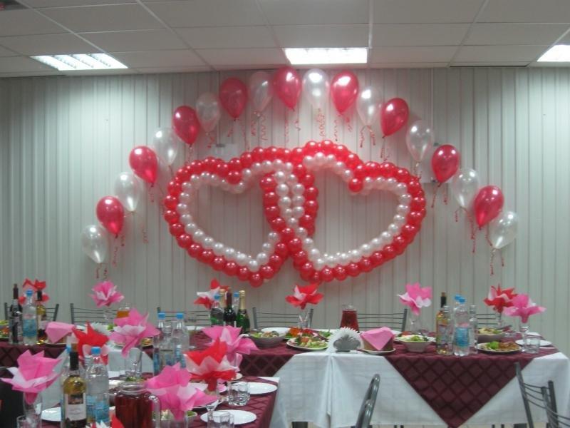 Украшение зала своими руками к свадьбе