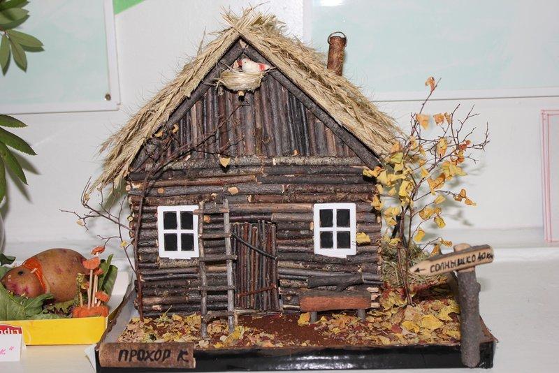 Поделка домики из дерева своими руками