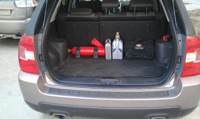 Багажник на киа спортейдж 2 своими руками