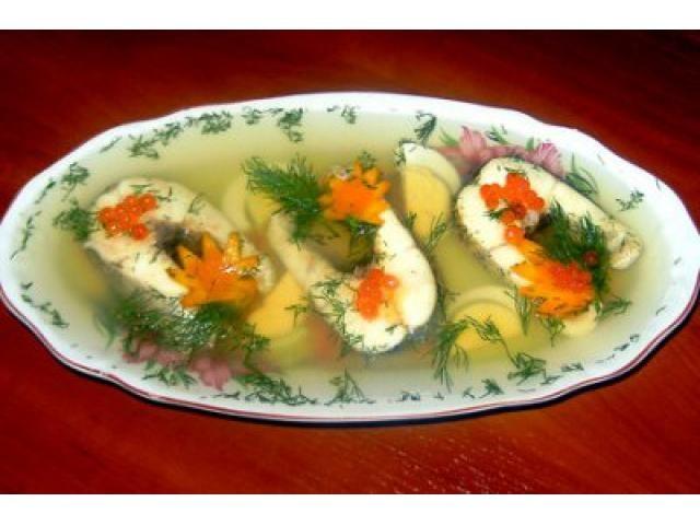 Заливное из красной рыбы пошаговый рецепт с
