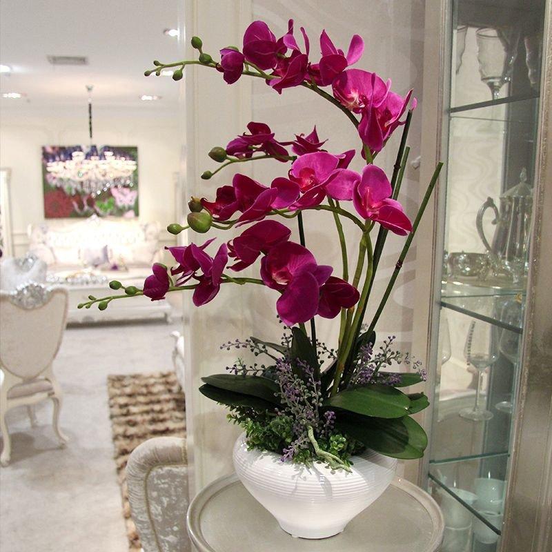Фото искусственных цветов для дома