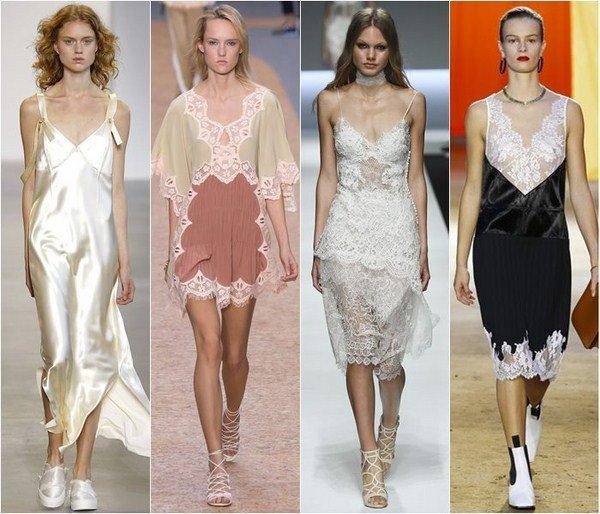 Платье лапша тренд 2017-2018