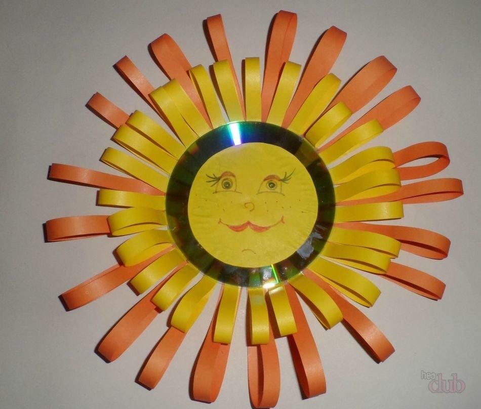 Поделки солнце в руках 64