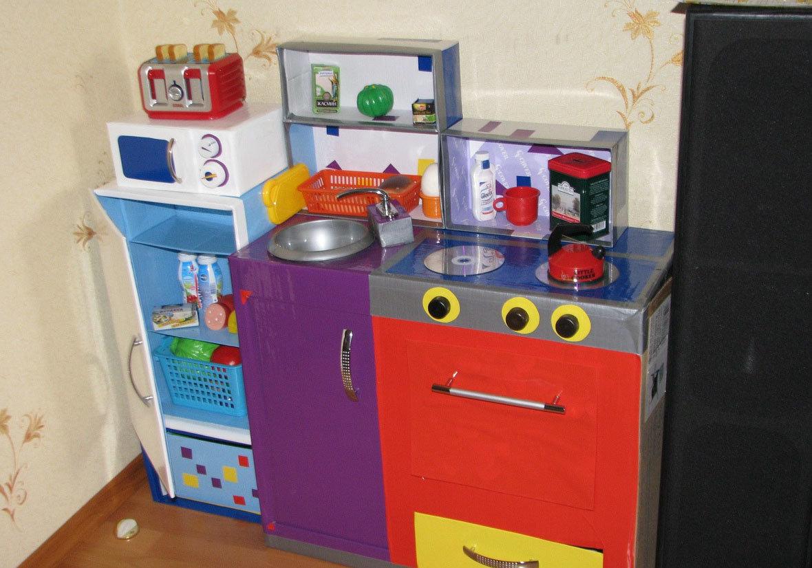 Детская кухня для детского сада своими руками 53