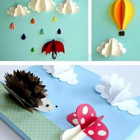 Поделки своими руками из бумаги в детский сад