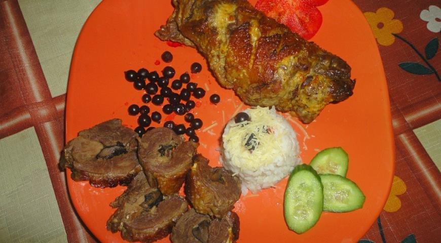 Филе утки с черносливом рецепт