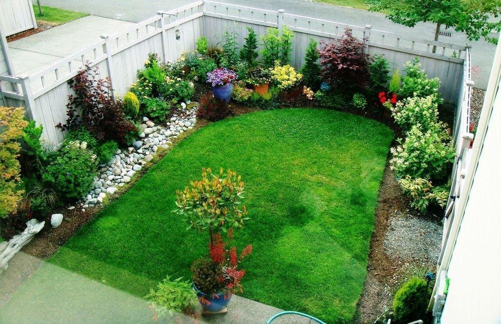 Дизайн садовый участок своими руками фото 5