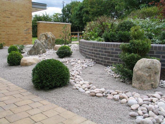 Подпорные стенки в ландшафтном дизайне: варианты садовых