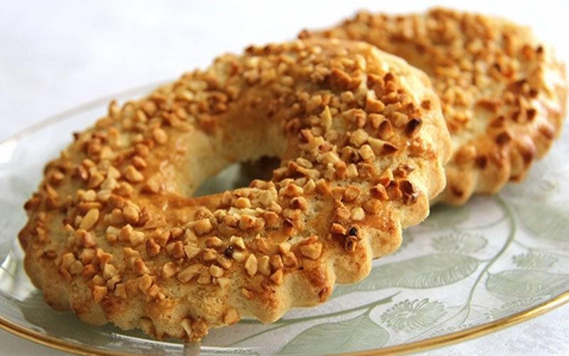 Песочные кольца с орехами рецепт с фото пошагово