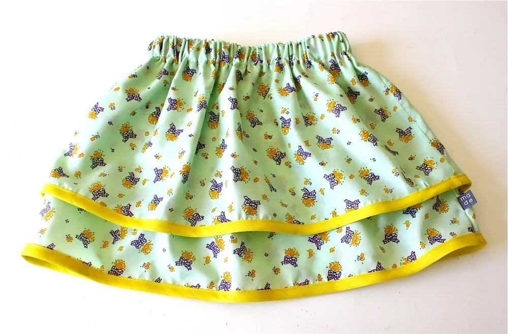 Как сшить юбку на резинке для девочки своими руками фото 43