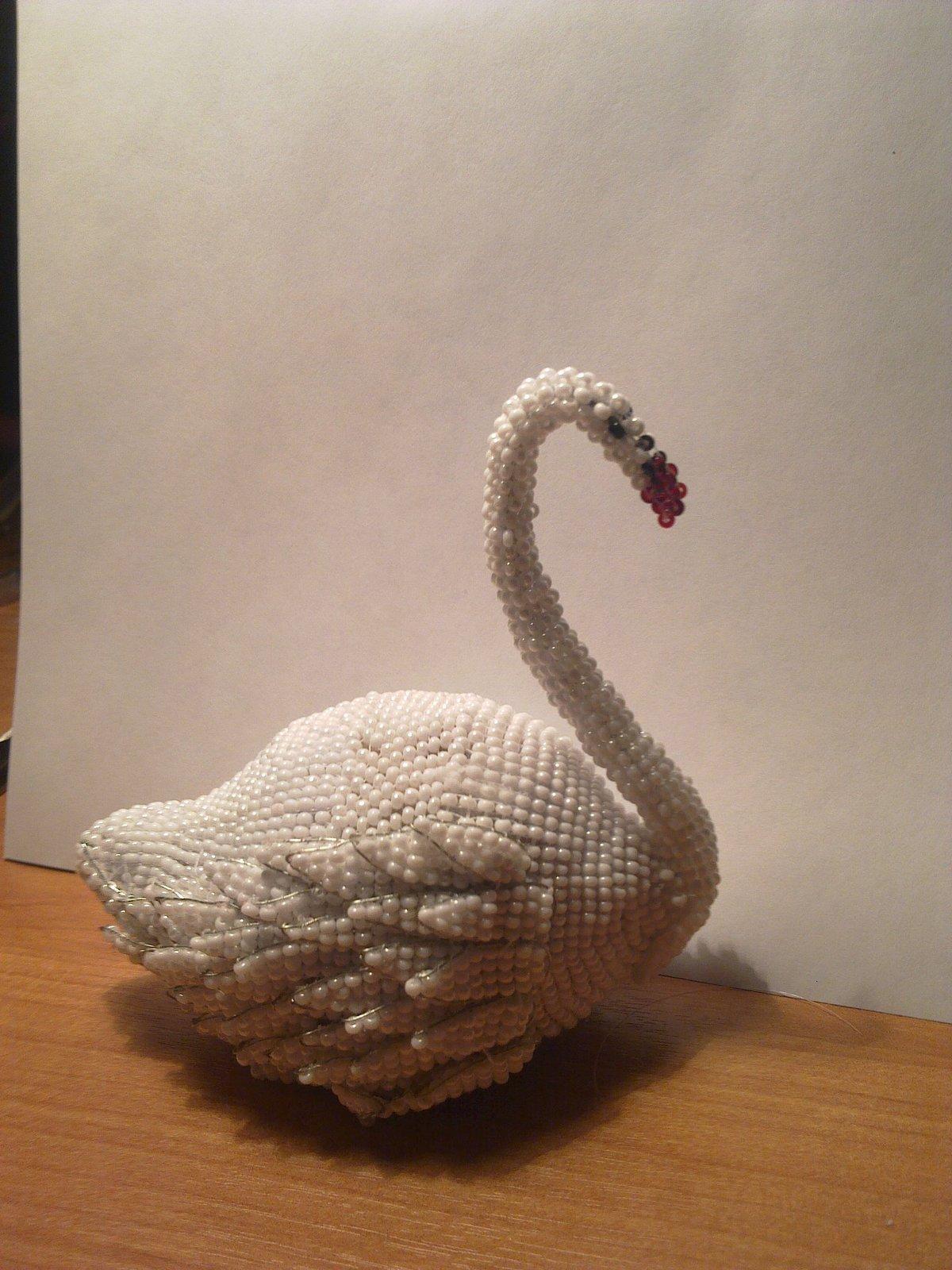 Поделки своими руками из салфеток лебедя