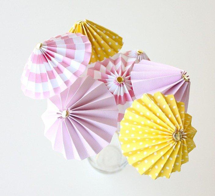 Зонтики для коктейлей своими руками