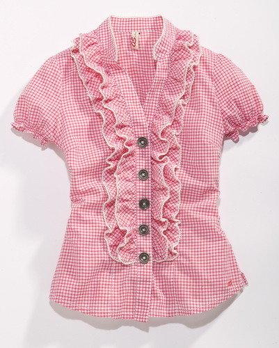 Блузка для девочки своими руками сшить