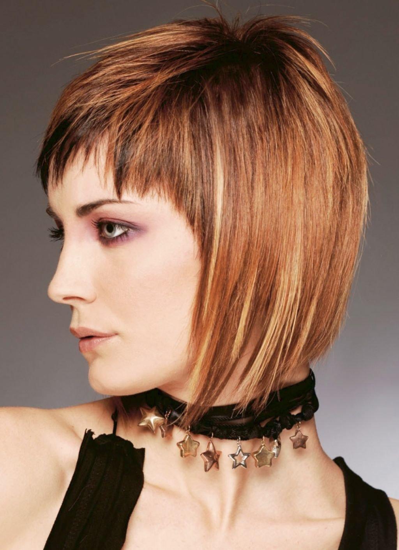 Фото причёсок на каре с челкой