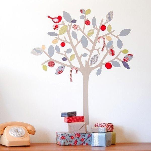 Дерево на стену своими руками в детскую