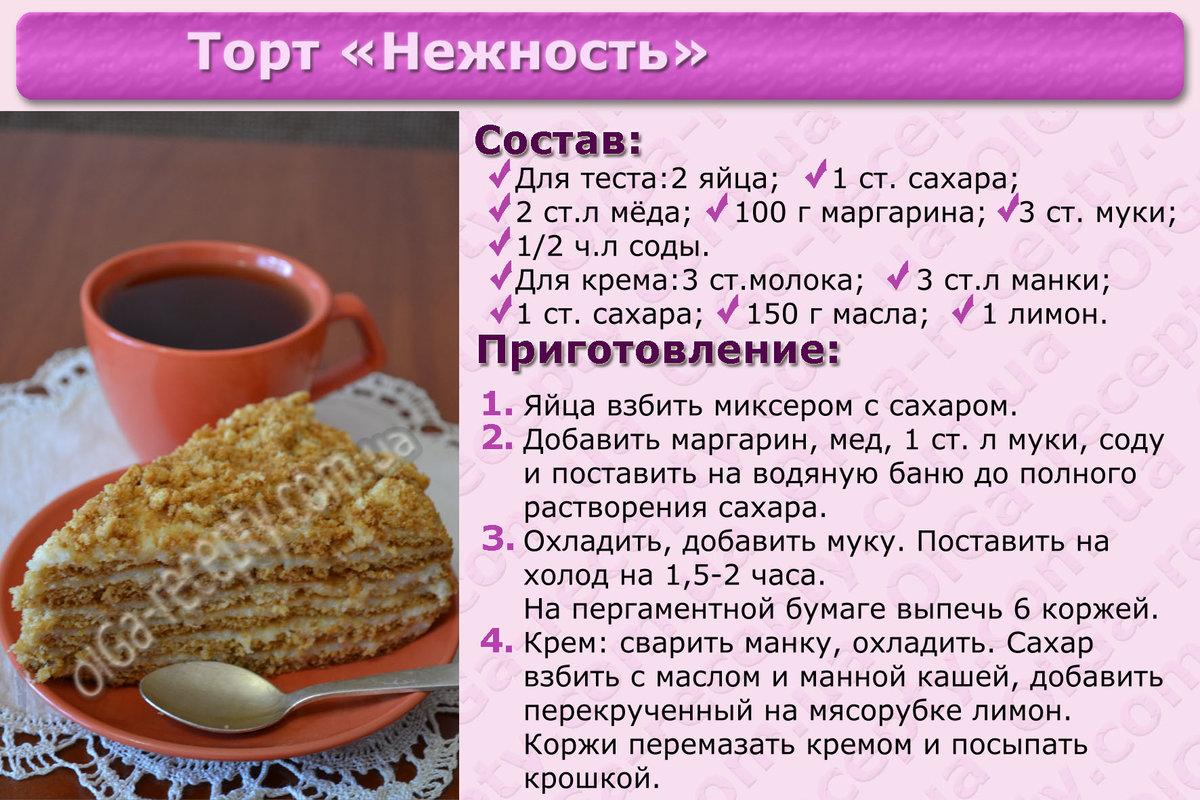Торты домашние - 965 рецептов приготовления пошагово - 1000 37