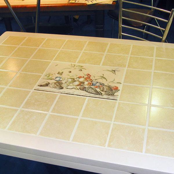Керамическая плитка на столешницу своими руками