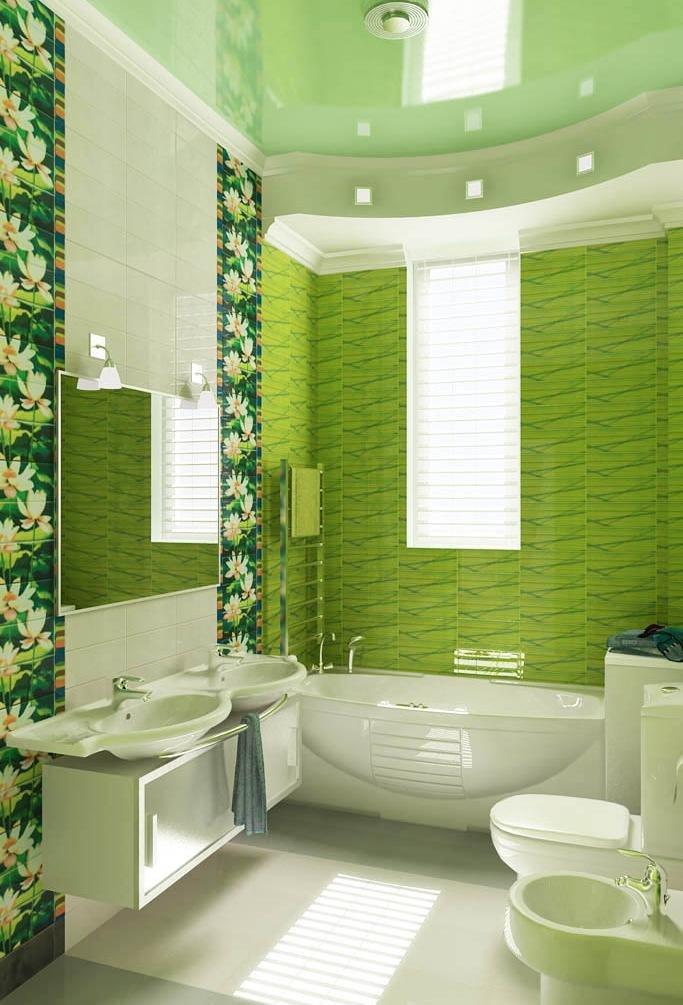 Дизайны ванной комноты