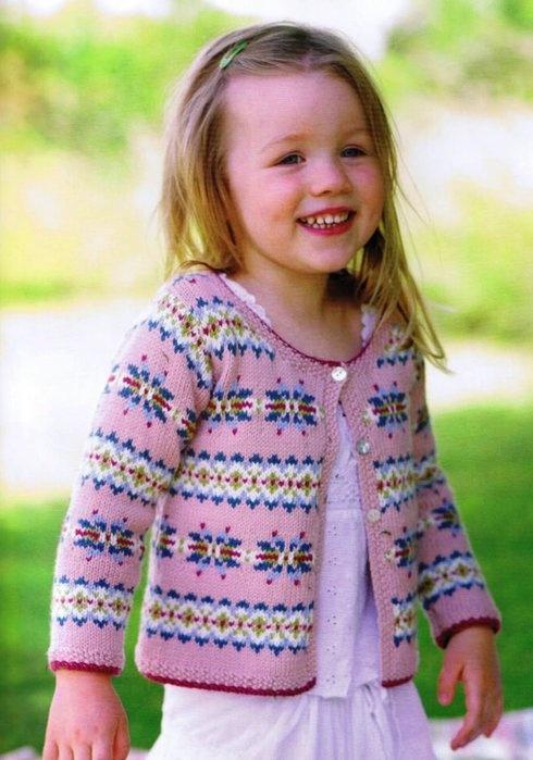 Новинки в вязании для девочек