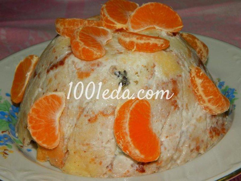 Фруктовый торт пошаговое