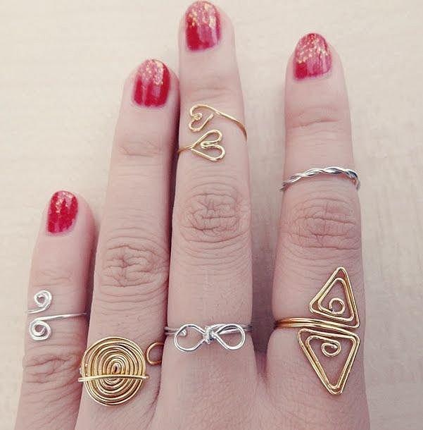Из чего сделать кольцо в домашних условиях