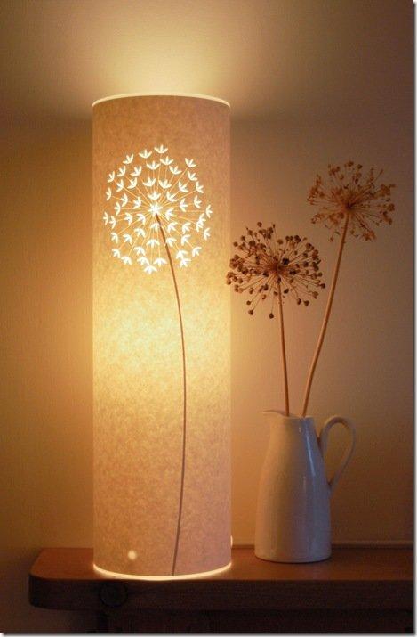 Как сделать лампу напольную
