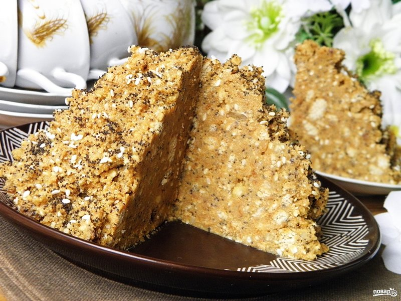 рецепты торта муравейник из печенья с фото