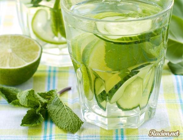 Как сделать в домашних условиях воду с лимоном