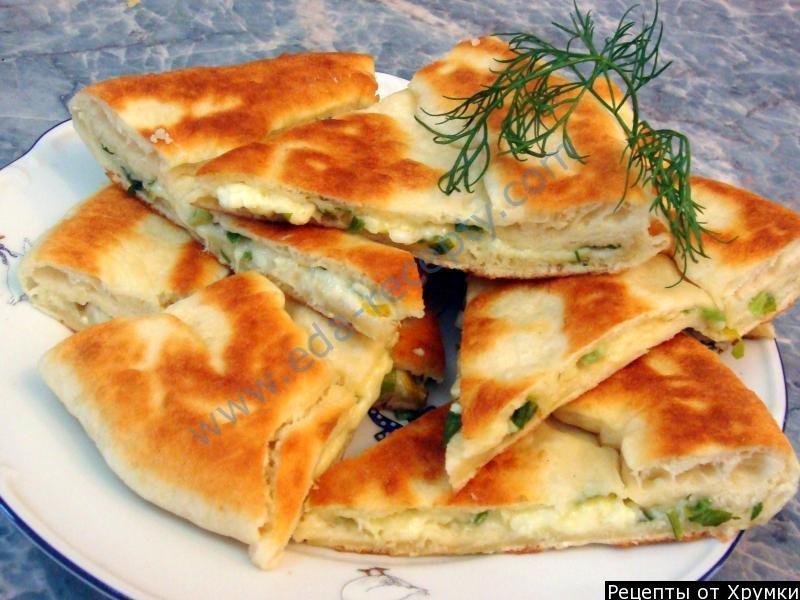 Хачапури с сыром простой в духовке