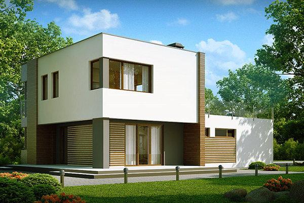 Современные дом с плоской крышей. - карточка от пользователя saint1444 в Яндекс.Коллекциях