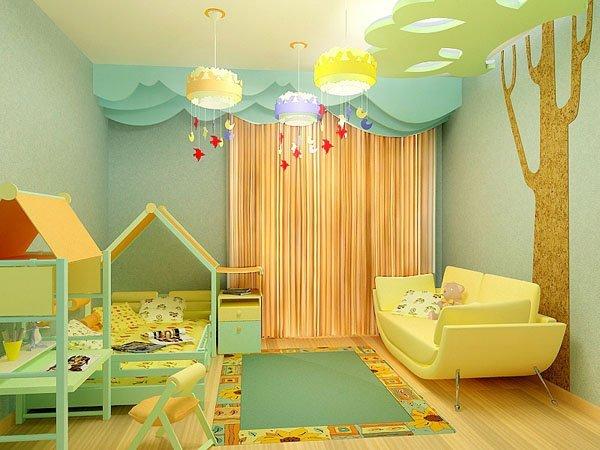 Идеи для ремонта детской комнаты своими руками 47