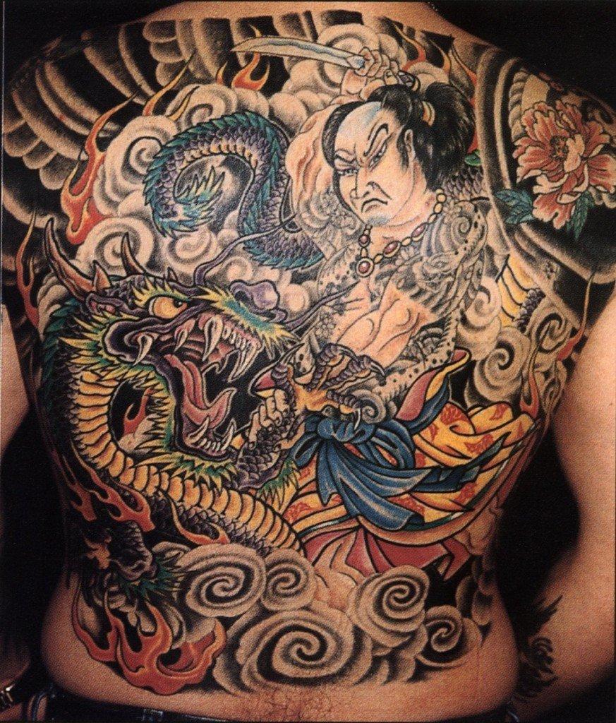 Фото татуировок японском стиле