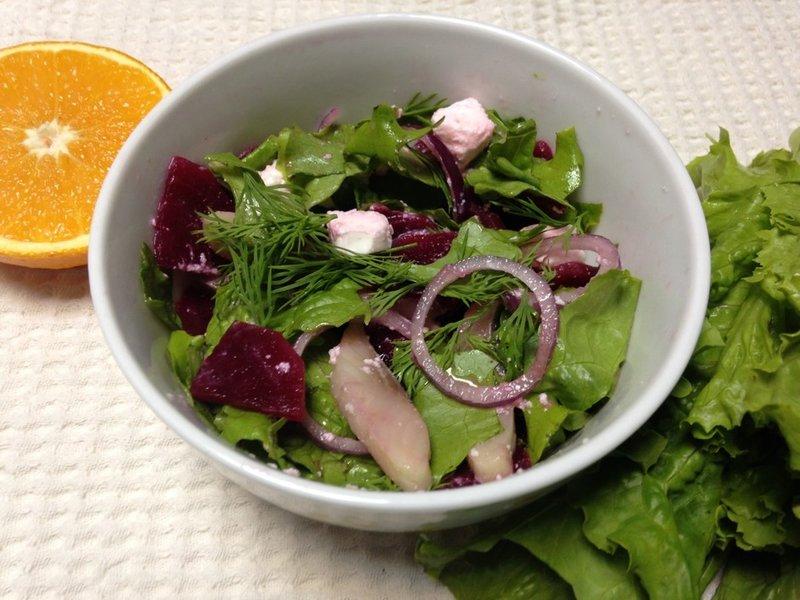 Салат из свеклой рецепты простые и вкусные