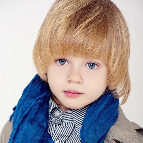 Стрижки мальчику на длинные волосы