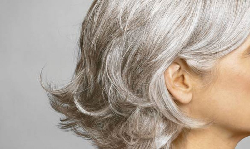 Причёски на седые волосы