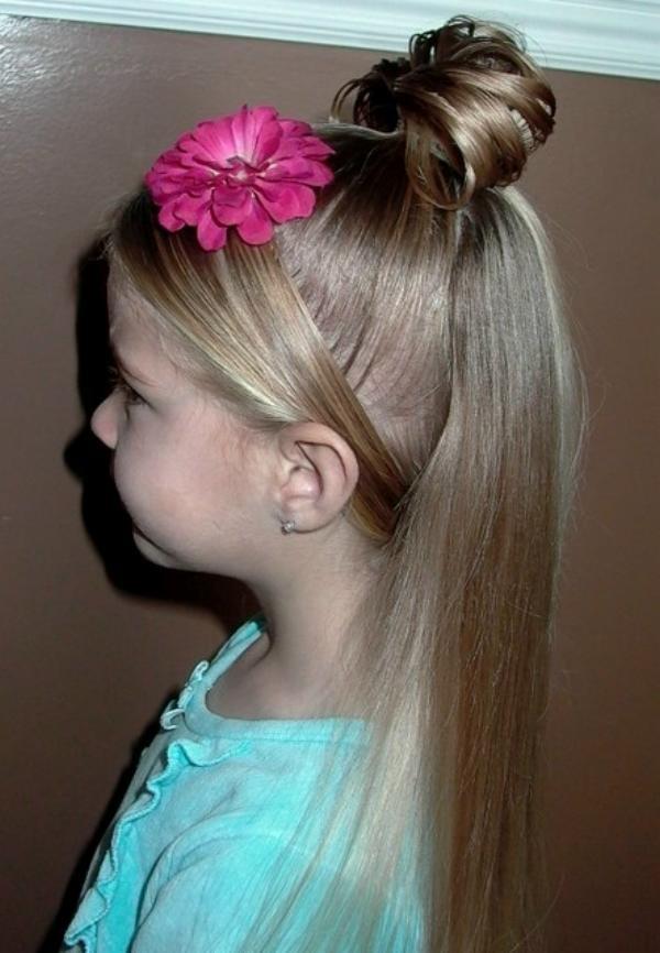 Прическа для 9 летней девочки