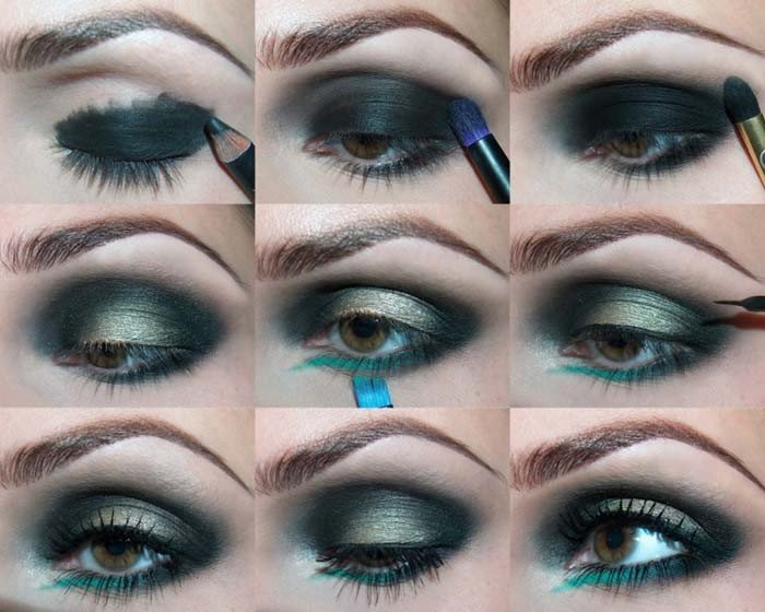 Макияж для карий глаз видеоуроки