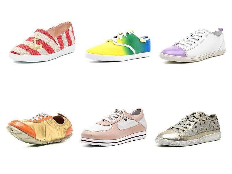 Модные женские кроссовки 2015