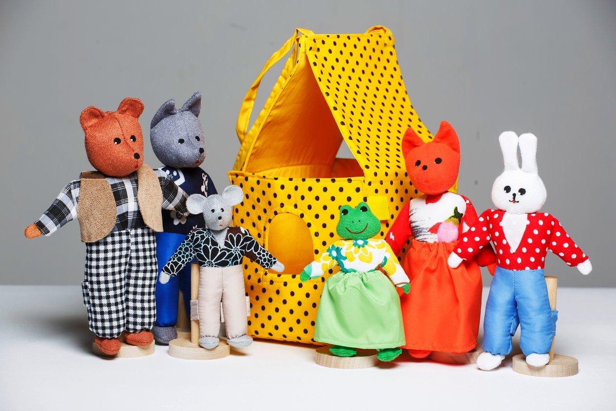 Игрушки своими руками для кукольного театру