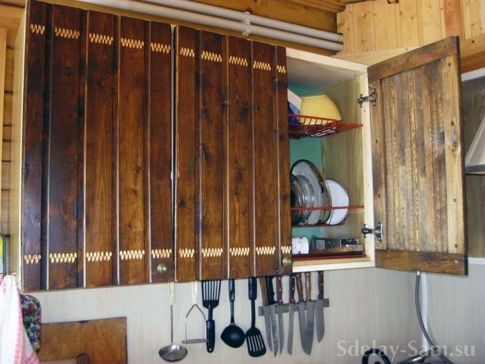 Как сделать кухню своими руками из вагонки