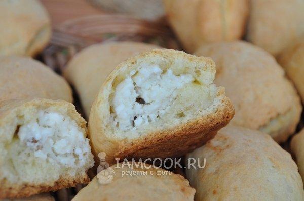 Печенье с начинкой из творога рецепт