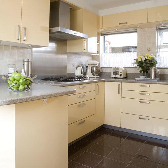 Кухня в кремовом цвете дизайн