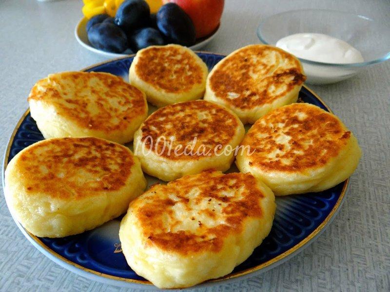 Сырники рецепт пошаговый творог